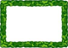 Πλαίσιο της πρασινάδας Στοκ φωτογραφίες με δικαίωμα ελεύθερης χρήσης