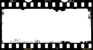 Πλαίσιο της ταινίας, βρώμικο πανόραμα Στοκ Φωτογραφία