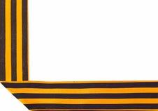 Πλαίσιο των κορδελλών του ST George Στοκ Εικόνα