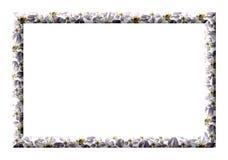 Πλαίσιο των λουλουδιών άνοιξη Στοκ φωτογραφία με δικαίωμα ελεύθερης χρήσης