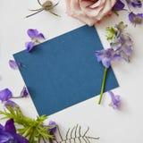 Πλαίσιο των λουλουδιών άνοιξη Στοκ Εικόνες