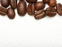 Πλαίσιο των φασολιών καφέ Στοκ Εικόνες