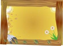 Πλαίσιο, δυτικός πίνακας δελτίων Στοκ εικόνα με δικαίωμα ελεύθερης χρήσης
