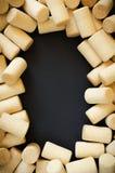 Πλαίσιο φελλού κρασιού Στοκ φωτογραφίες με δικαίωμα ελεύθερης χρήσης