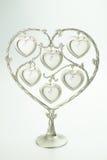 Πλαίσιο φωτογραφιών καρδιών Στοκ Φωτογραφίες