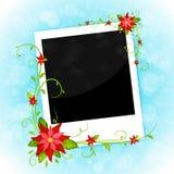 Πλαίσιο φωτογραφιών Χριστουγέννων Στοκ Εικόνες