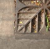 Πλαίσιο χάλυβα στο τσιμεντένιο πάτωμα Στοκ Εικόνα