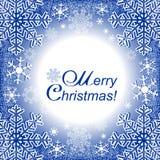 Πλαίσιο Χριστουγέννων ή χειμερινό εποχιακό πλαίσιο Στοκ Φωτογραφίες