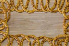 Πλαίσιο bagels Στοκ Εικόνες