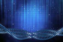 Πλαίσιο DNA Στοκ εικόνα με δικαίωμα ελεύθερης χρήσης