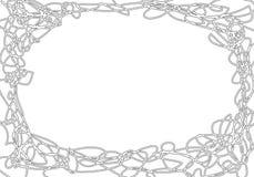 Πλαίσιο Doodle Στοκ εικόνες με δικαίωμα ελεύθερης χρήσης