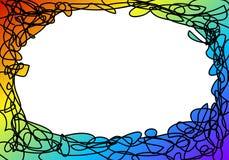 Πλαίσιο Doodle Στοκ φωτογραφία με δικαίωμα ελεύθερης χρήσης
