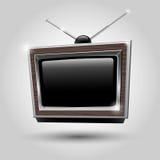 Πλαίσιο TV. Κεραίες TV διανυσματική απεικόνιση