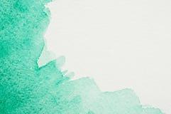 Πλαίσιο Watercolor στοκ εικόνες με δικαίωμα ελεύθερης χρήσης