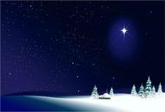 πλαισιωμένη σκηνή διακοπών ανασκόπησης Χριστούγεννα Στοκ φωτογραφίες με δικαίωμα ελεύθερης χρήσης