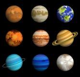 Πλανήτες ηλιακών συστημάτων Στοκ Φωτογραφία