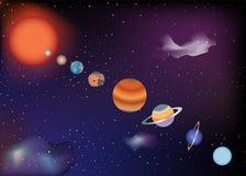 πλανήτες παρελάσεων Απεικόνιση αποθεμάτων