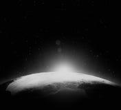 Πλανήτης από το διάστημα Στοκ Εικόνα