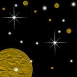 Πλανήτης γαλαξιών Στοκ εικόνα με δικαίωμα ελεύθερης χρήσης