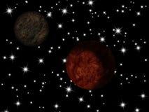 Πλανήτης γαλαξιών Στοκ Φωτογραφία