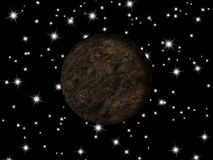 Πλανήτης γαλαξιών Στοκ Φωτογραφίες