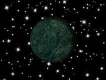 Πλανήτης γαλαξιών Στοκ Εικόνες
