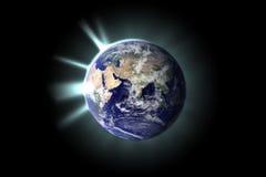 Πλανήτης Γη από το διάστημα Στοκ Εικόνες