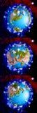 Πλανήτης Γη κινούμενων σχεδίων Στοκ φωτογραφία με δικαίωμα ελεύθερης χρήσης