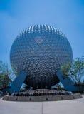 Πλανήτης Γη με το waterfountain - κόσμος Walt Disney Στοκ εικόνα με δικαίωμα ελεύθερης χρήσης