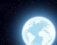 Πλανήτης Γη στο διάστημα Στοκ Φωτογραφία