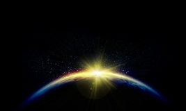 Πλανήτης Γη Στοκ εικόνες με δικαίωμα ελεύθερης χρήσης