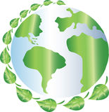 Πλανήτης Γη Eco Στοκ εικόνες με δικαίωμα ελεύθερης χρήσης