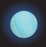 πλανήτης Ουρανός διανυσματική απεικόνιση