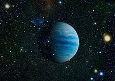 Πλανήτης - στοιχεία αυτής της εικόνας που εφοδιάζεται από τη NASA Στοκ εικόνες με δικαίωμα ελεύθερης χρήσης