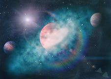 Πλανήτης - στοιχεία αυτής της εικόνας που εφοδιάζεται από τη NASA Στοκ Φωτογραφία