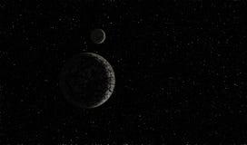 Πλανήτης στο διάστημα Στοκ εικόνες με δικαίωμα ελεύθερης χρήσης