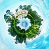 Πλανήτης σφαιρών στοκ εικόνα