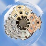 Πλανήτης της πόλης Telc, ΟΥΝΕΣΚΟ Δημοκρατίας της Τσεχίας Στοκ Φωτογραφία