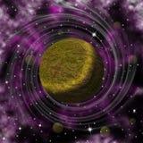 Πλανήτης του Κρόνου Στοκ Εικόνες