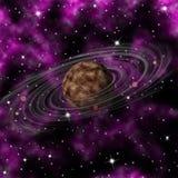 Πλανήτης του Κρόνου Στοκ Φωτογραφίες