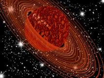 Πλανήτης του Κρόνου Στοκ φωτογραφία με δικαίωμα ελεύθερης χρήσης