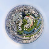 Πλανήτης του πανοράματος του Παρισιού Γαλλία Στοκ φωτογραφία με δικαίωμα ελεύθερης χρήσης
