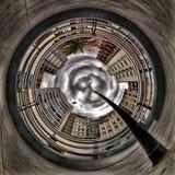 Πλανήτης Q πόλεων Στοκ Φωτογραφίες