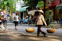 Πλανόδιοι πωλητές Ανόι στοκ εικόνα με δικαίωμα ελεύθερης χρήσης