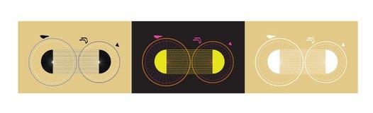 Πλασματικό ποδήλατο φαντασίας Στοκ εικόνες με δικαίωμα ελεύθερης χρήσης