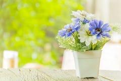 Πλαστά λουλούδια Στοκ Εικόνες
