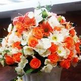Πλαστές ιδέες βάζων λουλουδιών στοκ φωτογραφίες