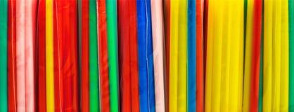 Πλαστικά άχυρα Στοκ Εικόνες