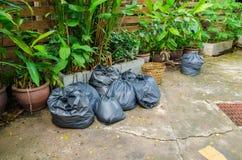 Πλαστικά απορρίμματα Στοκ εικόνα με δικαίωμα ελεύθερης χρήσης