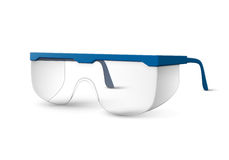 Πλαστικά εργαστηριακά γυαλιά ελεύθερη απεικόνιση δικαιώματος